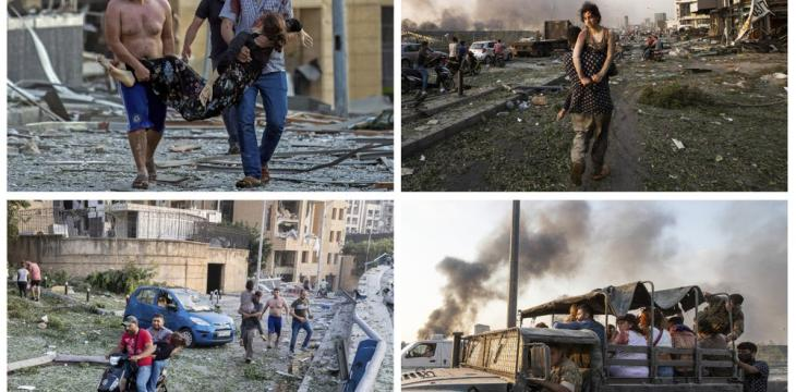 'It Wasn't Supposed to Be This Way'...Story Behind Beirut Blast Photos