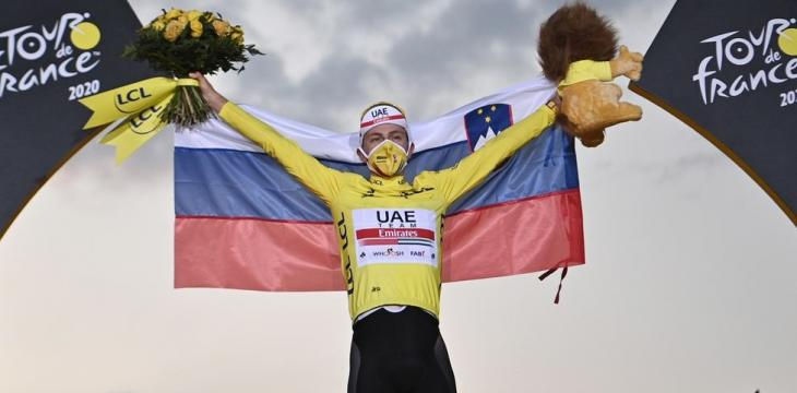 Tour Champion Pogacar's Yellow Jersey Sold for Charity