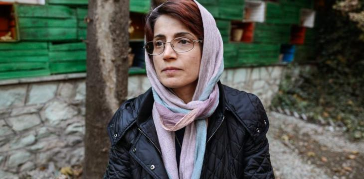 Jailed Iran Rights Lawyer Ends Hunger Strike over Health Concerns