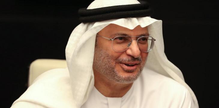 Gargash: UAE Continues to Support Establishment of Palestinian State