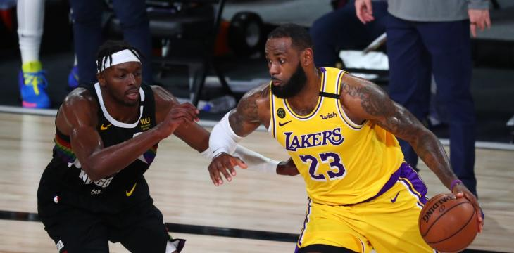 LeBron Powers Lakers Into NBA Finals