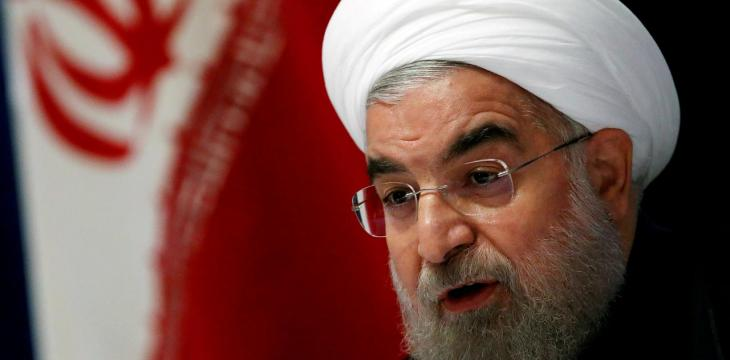 Rouhani: Iranians Should Direct their Anger at White House