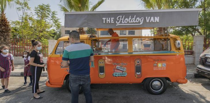 Food Trucks Provide Rare Bright Spot in Hard-Hit West Bank