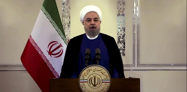 Rouhani Comes under Criticism over Call to 'Curse White House'
