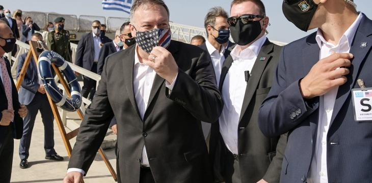 Pompeo Urges Greece and Turkey to Press on with Talks