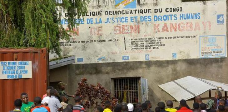 More Than 1,300 Inmates Escape From Prison in Eastern Congo