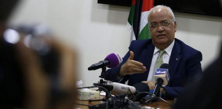 Palestinian Official Erekat in Critical, Stable Condition