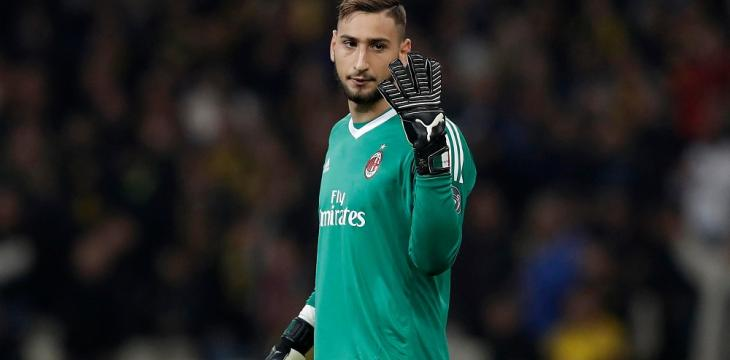 Milan Goalkeeper Donnarumma Tests Positive for COVID-19