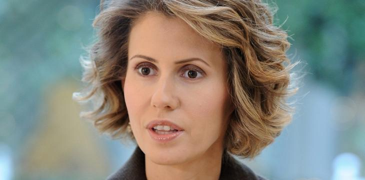 Posters of Asma Assad Heavily on Display at Popular Event in Syria's Hama