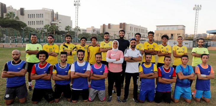 Football Star Becomes First Woman to Coach a Men's Pro Team in Egypt