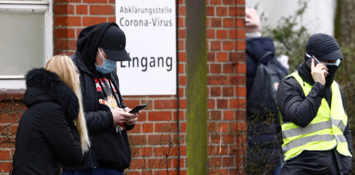 German Minister Warns of 20,000 New Daily Virus Cases Within Days