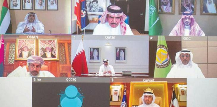 GCC Interior Ministers Discuss COVID-19 Security Repercussions
