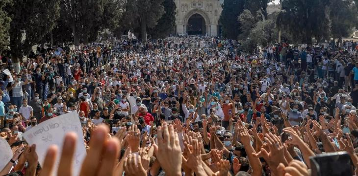 Thousands Rally against France's Macron in Jerusalem