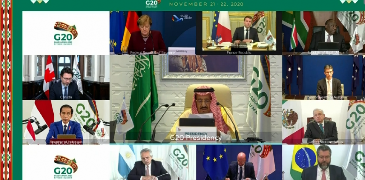 King Salman Lauds Spirit of Cooperation Among G20 Leaders