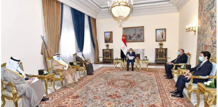 Egypt, Kuwait Assert Keenness to Boost Coordination on Regional Scale