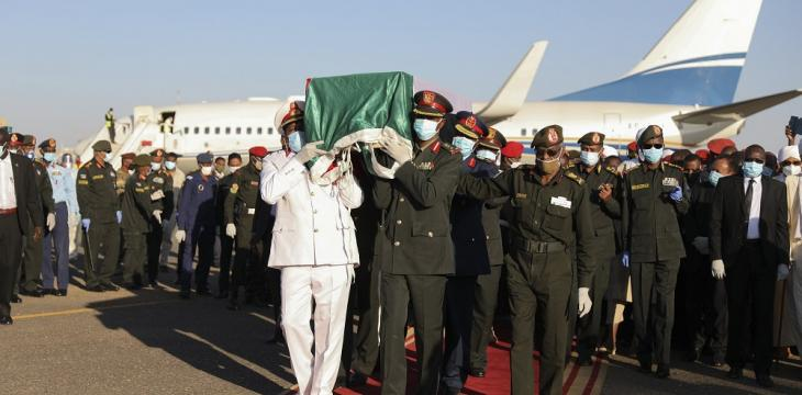 Thousands Come out for Funeral of Former Sudan PM al-Mahdi