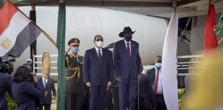 Egypt's Sisi in 1st South Sudan Visit Talks Nile, Stability