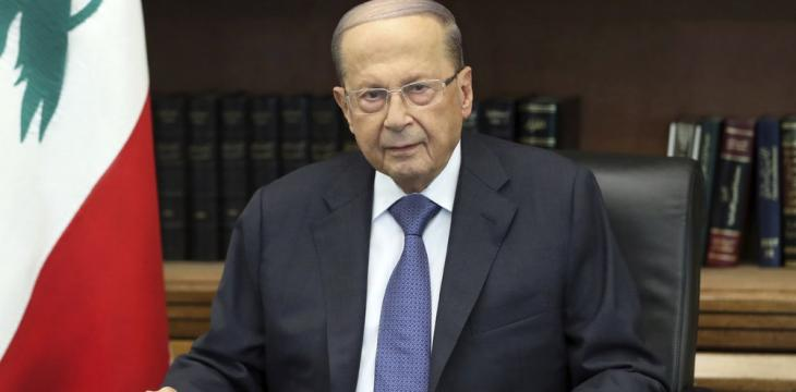 Aoun Expresses Hope for Israel Border Talks