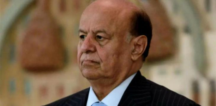 Yemen's Hadi Says Military Operations to Continue Until Houthis Defeated