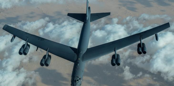 US Bombers Fly over Middle East in 'Strategic' Show of Deterrence