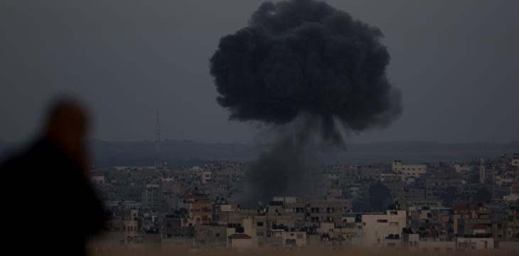 Israeli Jets Hit Gaza after Rocket Fire
