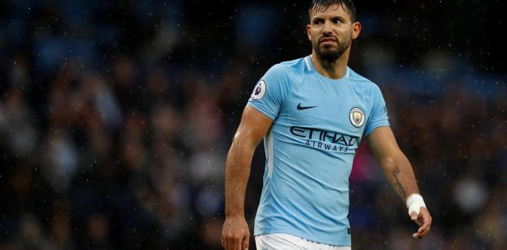 Manchester City's Aguero Positive for COVID-19