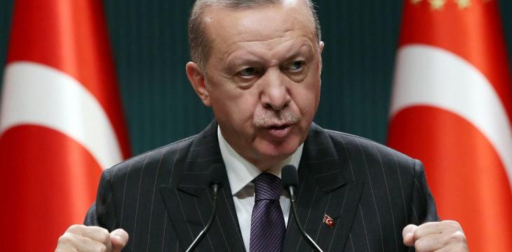 Turkey's Erdogan Says 'Absolutely' against High Interest Rates