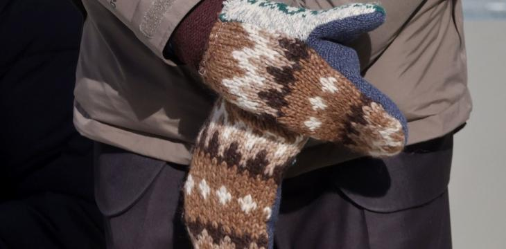Bernie's Mitten Maker Marvels over 15 Minutes of Fame