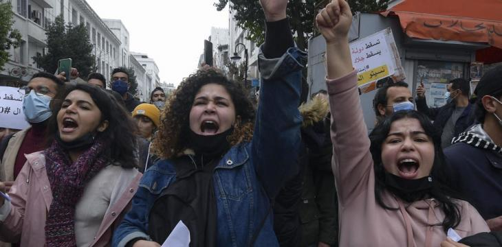 Tunisian Press Syndicate Criticize Police over Night Arrest