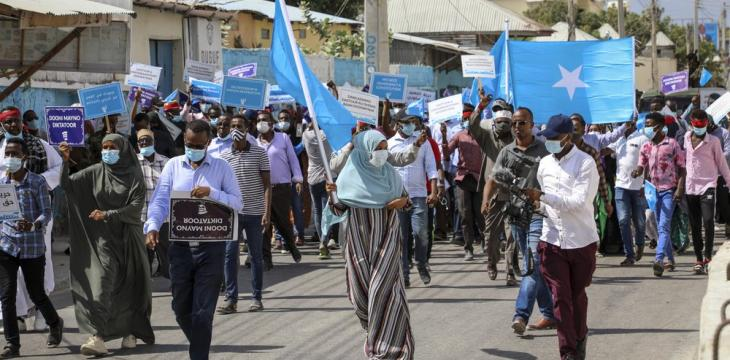 Somalia's Opposition Postpones Protest Over Election Delay