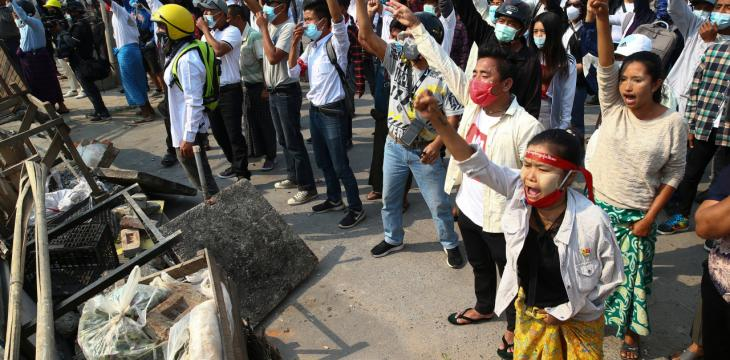 At Least 18 Killed in Myanmar on Bloodiest Day of Protests