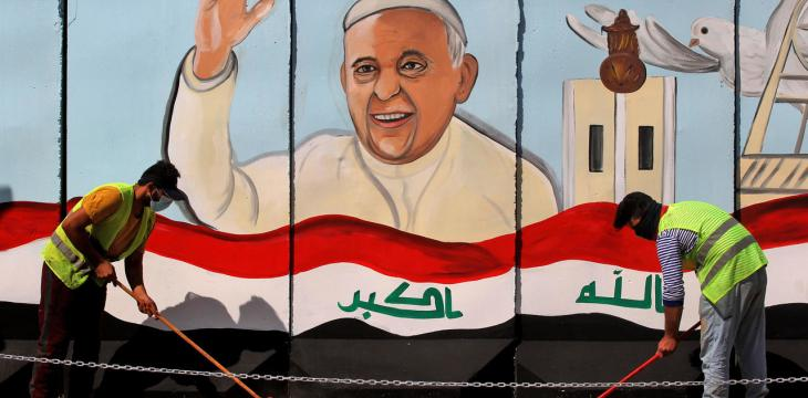 In Historic First, Pope Francis to Visit Iraq