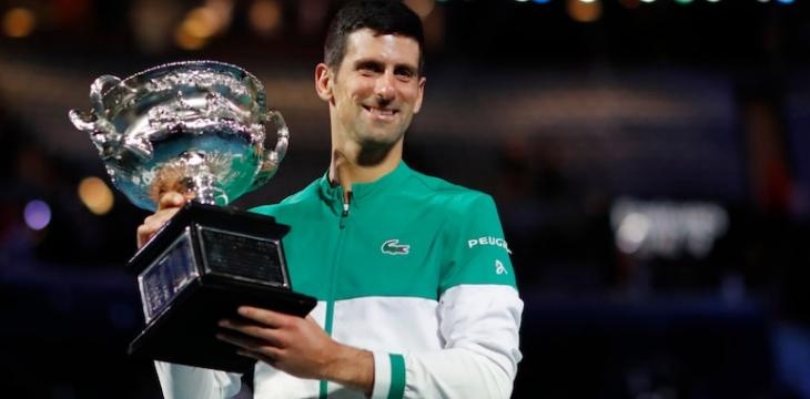 Djokovic Ties Federer Record of 310 Weeks as ATP No.1