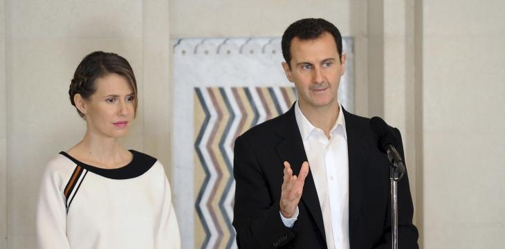 Assad, his Wife Test COVID-19 Positive