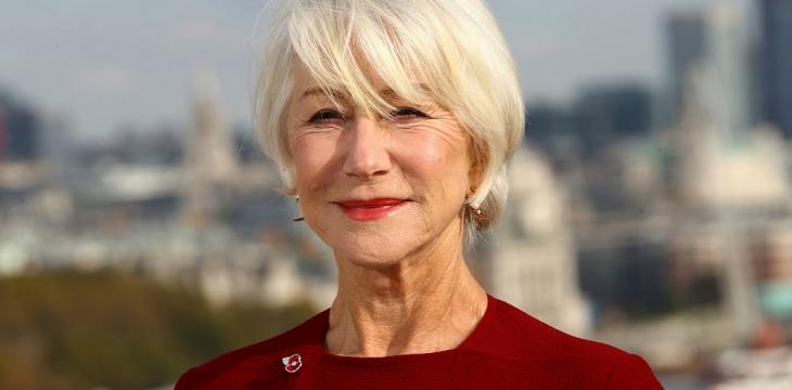 Helen Mirren Finds Bright Side During the Pandemic