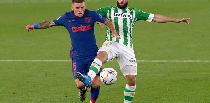 Atlético Held 1-1 at Betis, Edges 1 Point Clear of Madrid