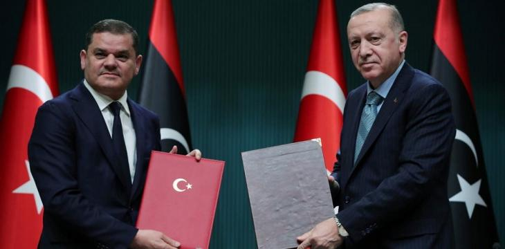 Turkey, Libya's Dbeibeh Committed to Eastern Mediterranean Maritime Accord