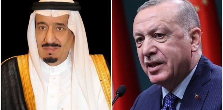 King Salman Receives Call from Erdogan