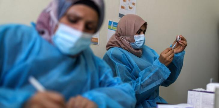 Gaza Registers Record Daily Virus Deaths