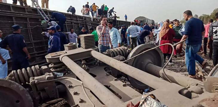 Nearly 100 Hurt in Egypt Train Accident