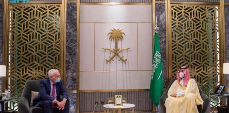 Saudi Crown Prince Meets with British PM's Special Envoy for Gulf Region