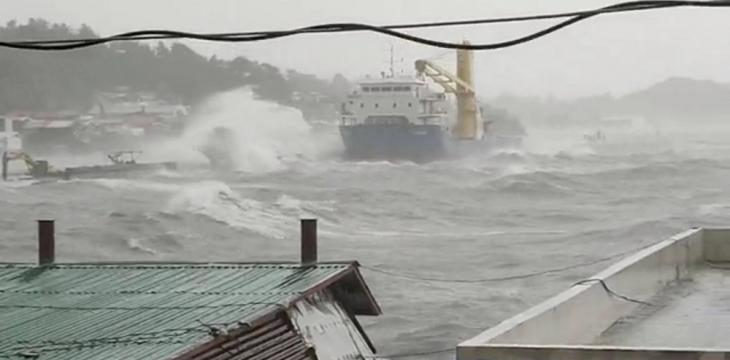 Approaching Typhoon Displaces 68,000 People in Philippines