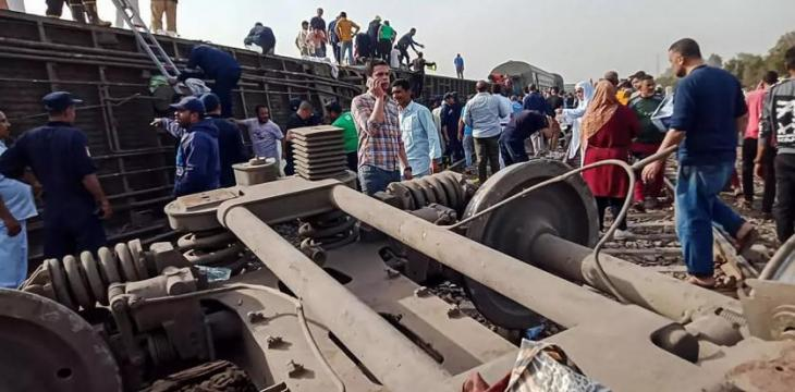 Egyptian Parliament Probes Toukh Train Accident