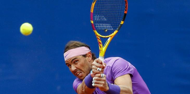 Nadal Advances, Fognini Defaulted at Barcelona Open