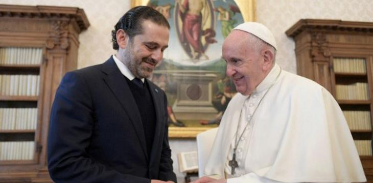 Pope Meets With Lebanon's PM-Designate, Urges End of Crises