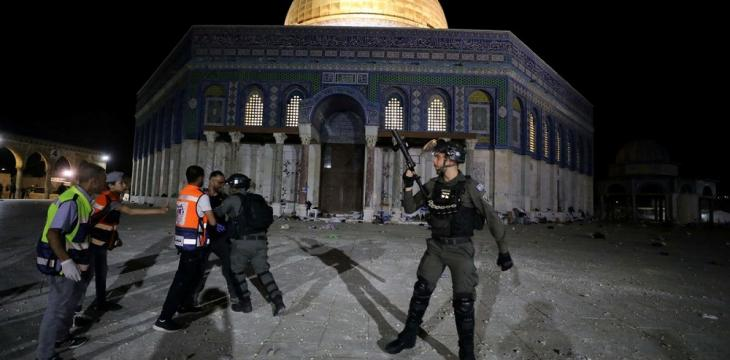 UAE Condemns Israel over Palestinian Clashes at Al-Aqsa