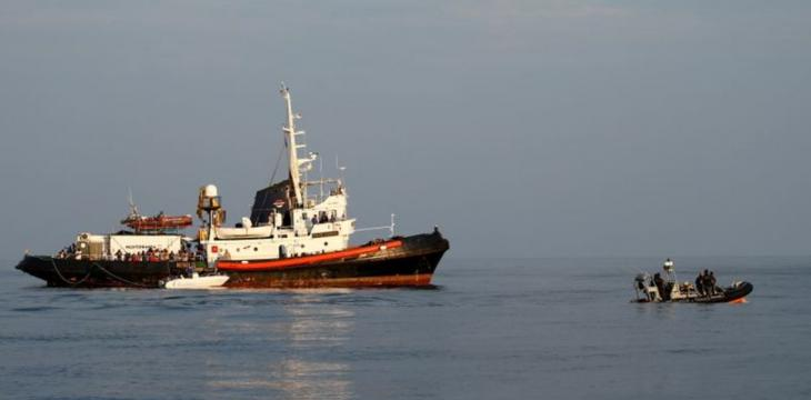 Four Boats Carrying Hundred of Migrants Land in Italy's Lampedusa