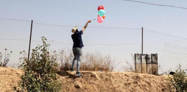 Incendiary Balloons to Israel Resumed