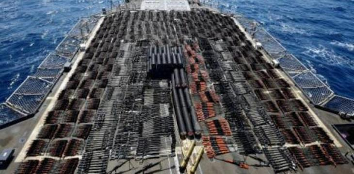US Navy Seizes Weapons Sent by Iran to Houthis