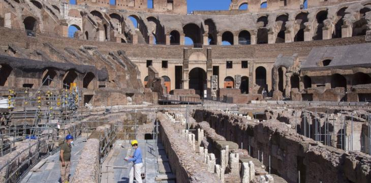 Rome Approves Plans to Renovate Colosseum Arena